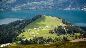 St. Wolfgang Lake. At mountain top of St. Wolfgang lake Stock Images
