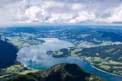 St. Wolfgang Lake. At mountain top of St. Wolfgang lake Stock Photos