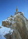 The mountain top station of the Aiguille du Midi in Chamonix, France. Stock Photos