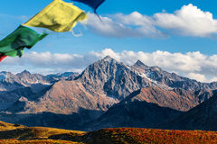 Mountain top in the Tyrolian alps Stock Images