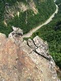 Mountain Top View Stock Photo