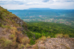 Mountain top View. Landscape of mountain top View Royalty Free Stock Images