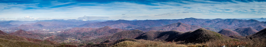 Mountain top view Stock Photography