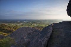 Mountain top view Stock Photos