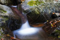 Free Mountain Torrent Royalty Free Stock Photography - 1518107