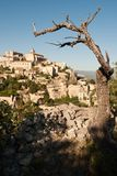 Mountain town of Gordes Stock Photos