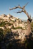 Mountain town of Gordes Stock Photos