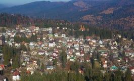 Mountain town I Stock Photography