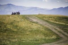 Mountain trach Royalty Free Stock Photo
