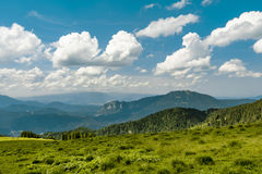Mountain track in Romania Royalty Free Stock Photography