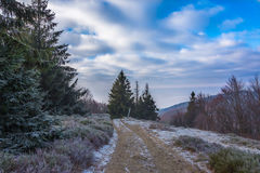 Mountain trail Royalty Free Stock Photography