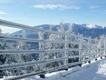 Mountain trail at Poiana Brasov ski resort