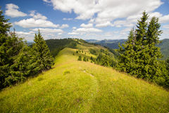 Mountain trail Royalty Free Stock Image