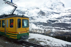 Mountain Train Royalty Free Stock Photography