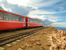 Mountain train in Colorado Royalty Free Stock Photography