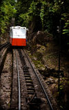 Mountain tram service Stock Image