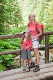 Mountain trek Stock Photo