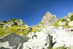 Mountain Trekking Royalty Free Stock Photo