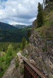 Mountain Trestle Stock Photo