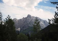 Mountain. Triglav mountain. Nature of beautifull country Slovenia / Europe Stock Image