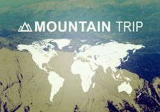 Mountain Trip header Stock Images