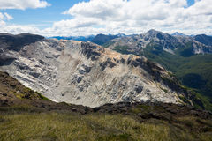 Mountain Tronador and glaciers of Alerce and Castano Overa Royalty Free Stock Images