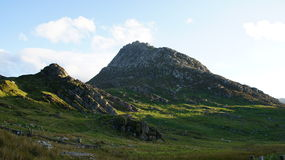 Mountain Tryfan in Snowdonia Stock Photos