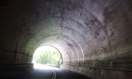 Mountain Tunnel Royalty Free Stock Images