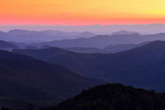 Mountain Twilight Royalty Free Stock Image