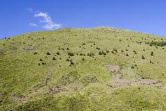 Mountain under sky Royalty Free Stock Photos