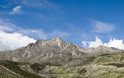 Mountain under sky 8 Royalty Free Stock Images