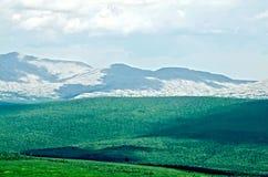 Mountain Ural range Kvarkush 3 Royalty Free Stock Photo