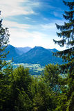 Mountain vacation at the lake in Austria Stock Images