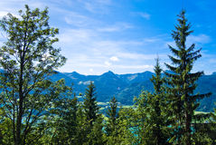 Mountain vacation at the lake in Austria Royalty Free Stock Image