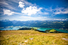 Mountain vacation at the lake in Austria Stock Photography