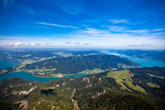Mountain vacation at the lake in Austria Stock Photo