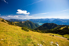 Mountain vacation at the lake in Austria Royalty Free Stock Images