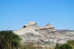 Mountain in Valle de la Luna Ischigualasto Stock Photos
