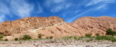 Mountain in Valle Quitor, San Pedro de Atacama stock images