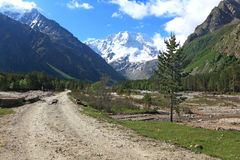 Mountain valley Royalty Free Stock Images
