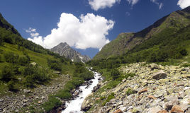 Mountain valley Royalty Free Stock Photography