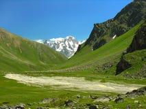 Mountain valley Stock Image
