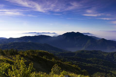 Mountain valley Chiang Mai thailand Royalty Free Stock Image