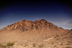 Mountain at Valley of Fire royalty free stock image