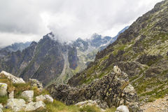 Mountain Valley in the High Tatras Stock Photography