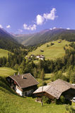 Mountain Valley In Austrian Alps In Summer Royalty Free Stock Photos