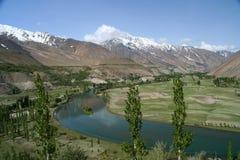 Mountain valley in Karakorum Royalty Free Stock Photography