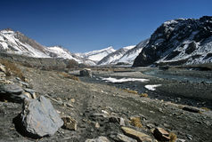 Mountain Valley, Nepal Stock Images