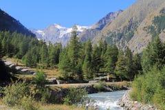 Mountain valley Stock Photography