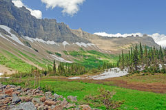 A mountain valley in Summer Royalty Free Stock Images